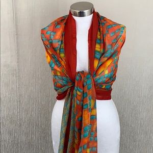 MULTICOLORED SARONG / WRAP